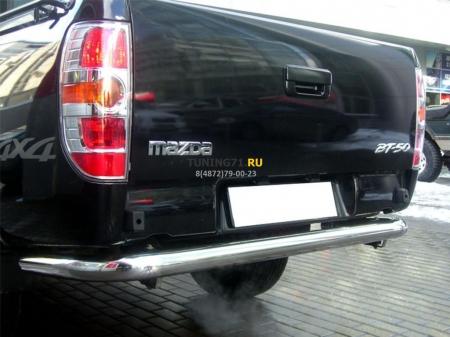 Mazda BT-50 2006-наст.вр.-Защита заднего бампера d-76